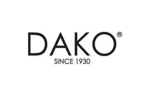 accessoarer manschettknappar dako logotype